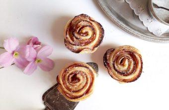 Muttertags-Rezept: Süße Apfel-Zimt-Rosen aus Blätterteig